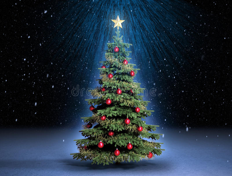 Arbre de Christmass illustration libre de droits