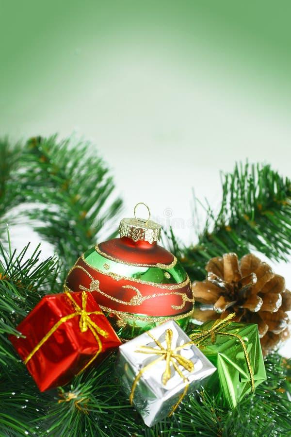 arbre de décorations de Noël photo libre de droits