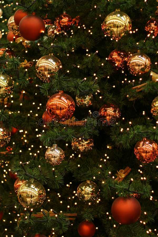 Arbre de Noël photographie stock
