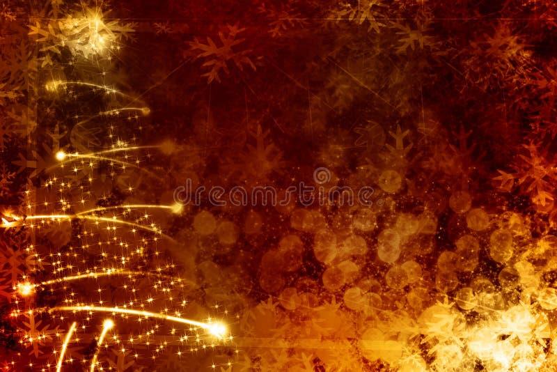 Arbre de Noël abstrait illustration libre de droits