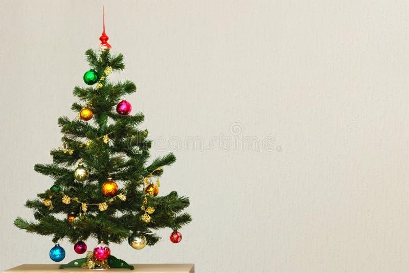 Arbre de Noël artificiel photographie stock