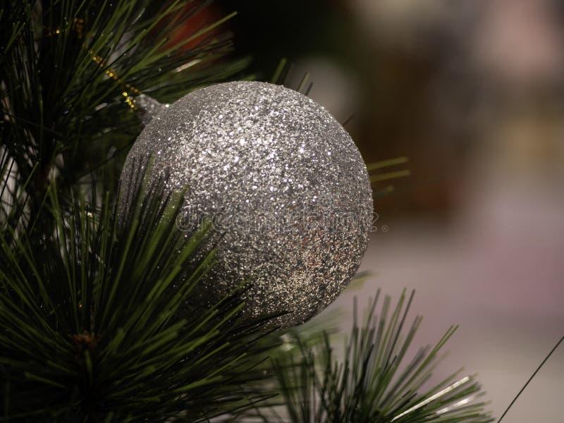 Arbre de Noël dans l'intérieur photographie stock libre de droits