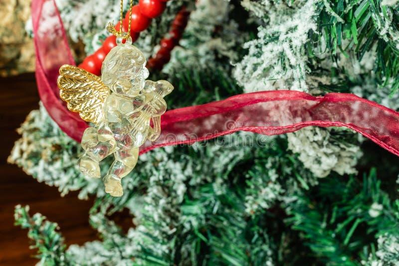 Arbre de Noël dans la maison images stock