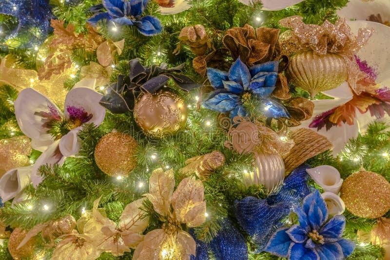 Arbre de Noël du bâtiment de capitale de l'État de l'Utah photographie stock