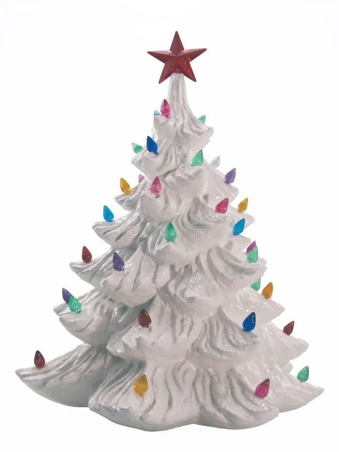 Arbre de Noël en céramique image libre de droits