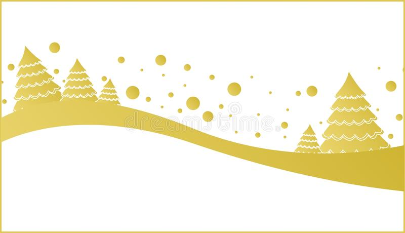 Download Arbre de Noël, nature illustration stock. Illustration du fond - 45369073