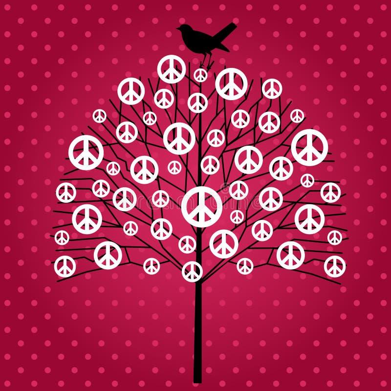 Arbre de paix illustration stock