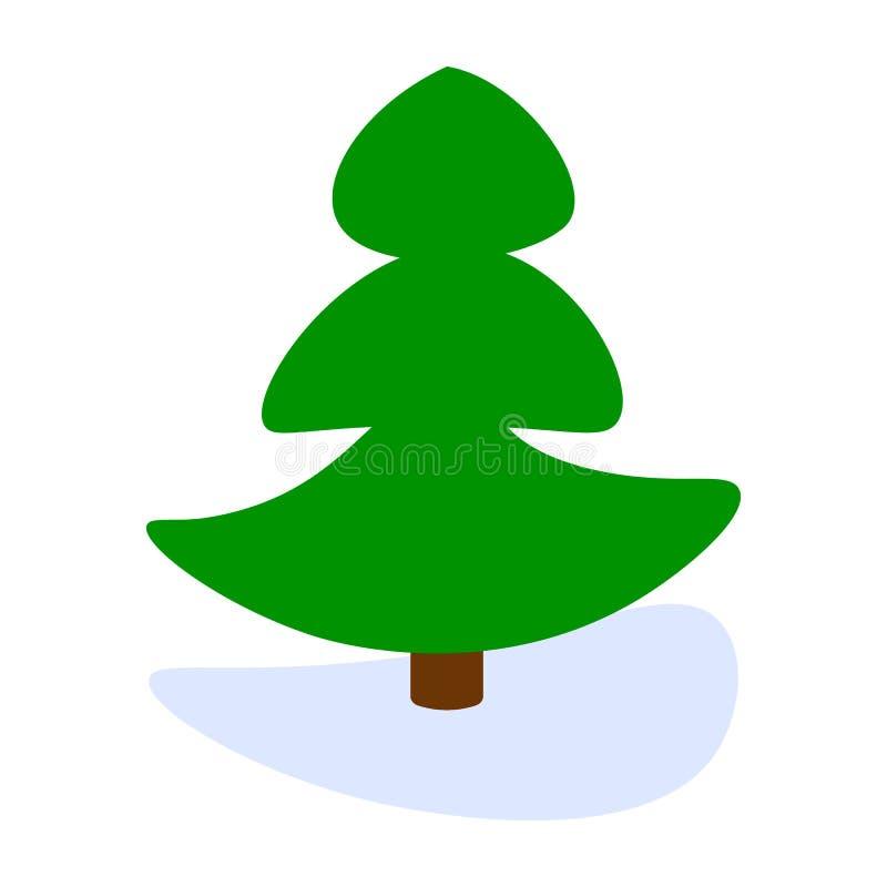 Arbre de pin illustration libre de droits