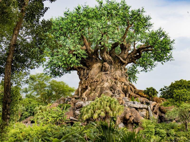 Arbre de règne animal d'Orlando Florida du monde de Disney de la vie photo libre de droits