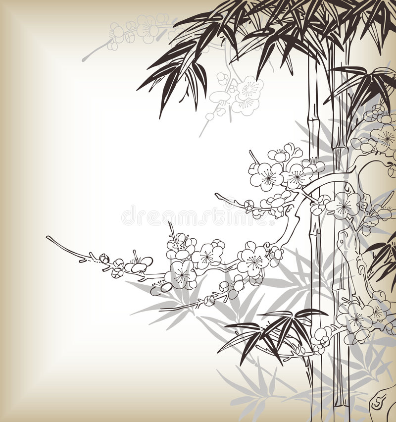 arbre de type japonais illustration libre de droits