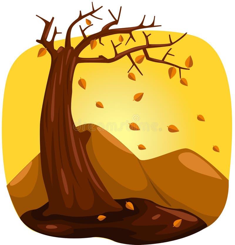 arbre en automne illustration libre de droits