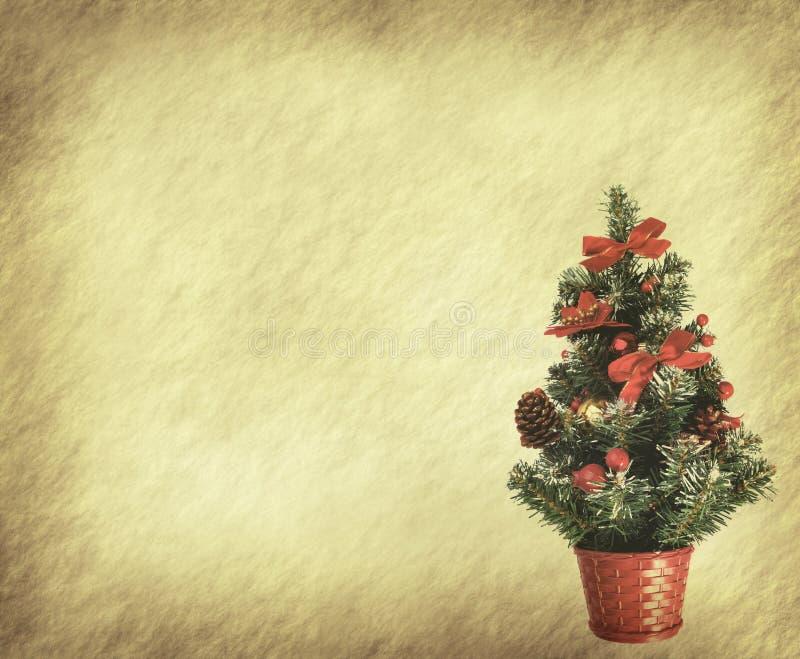 Arbre et jouet de Noël illustration de vecteur