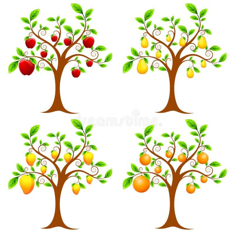 Arbre fruitier illustration libre de droits