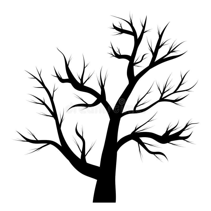 download arbre sans feuilles illustration stock illustration du nature 44567962 - Arbre Sans Feuille
