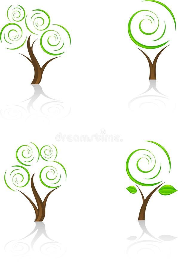 arbres illustration libre de droits