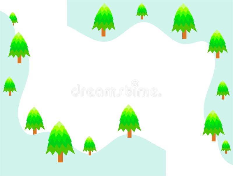 Arbres de Cristmas illustration libre de droits