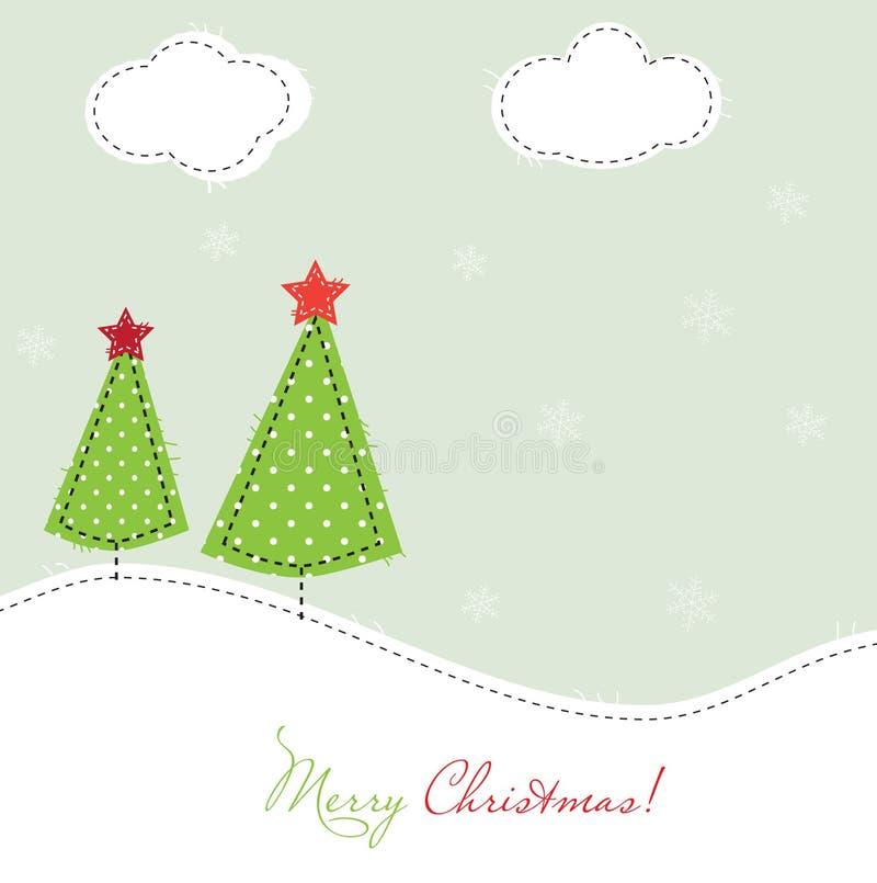 Arbres de Noël illustration libre de droits
