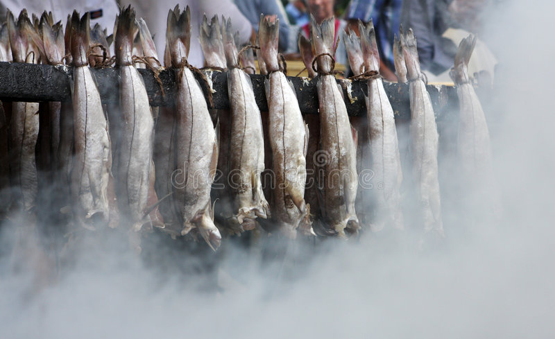 Arbroath Smokies stock image