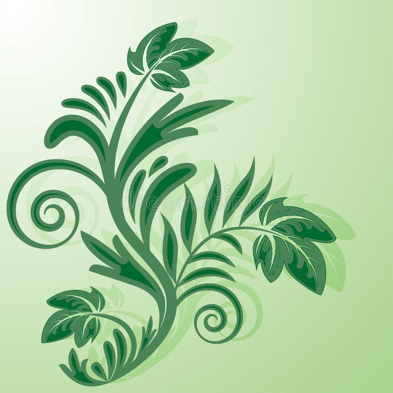 Arbusto verde libre illustration