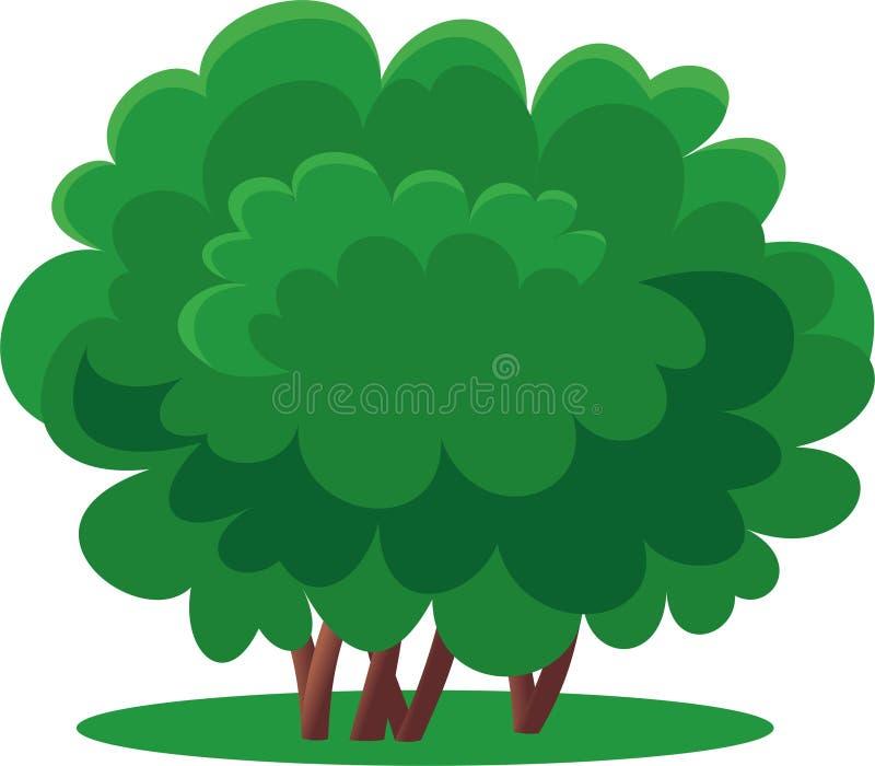 Download Arbusto verde stock de ilustración. Ilustración de verde - 44850146