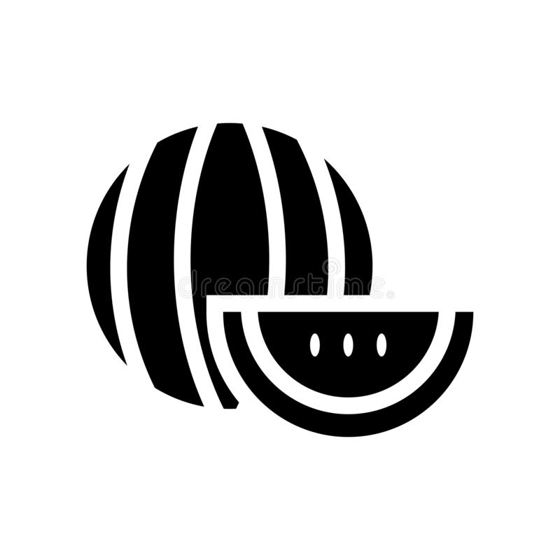Arbuz ikona  ilustracja wektor