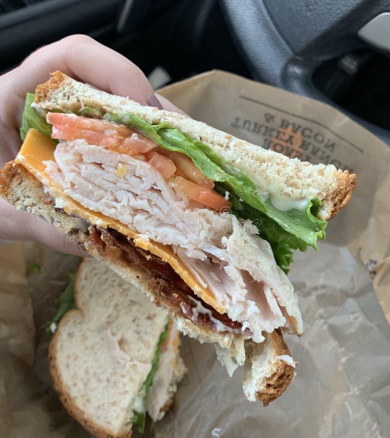 Arby's turkey sandwich stock photos