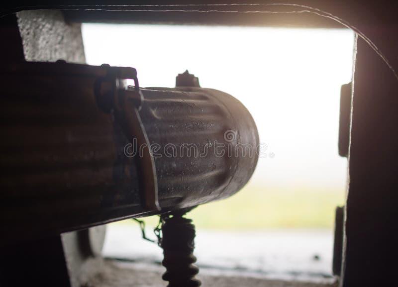 Arcón de la ametralladora imagen de archivo