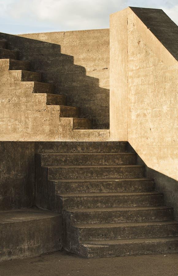 Arcón de las escaleras en San Francisco foto de archivo libre de regalías
