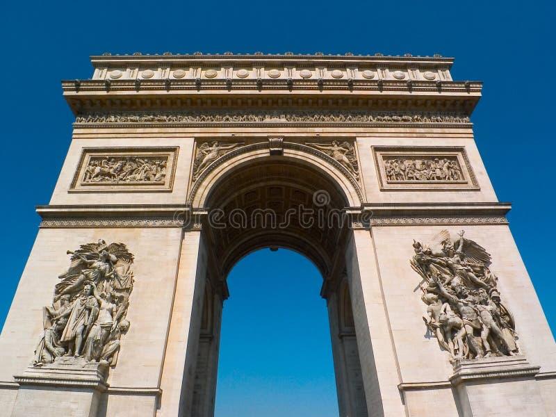 Download Arc Champs De Elysee Paris Triomphe Στοκ Εικόνα - εικόνα: 122203