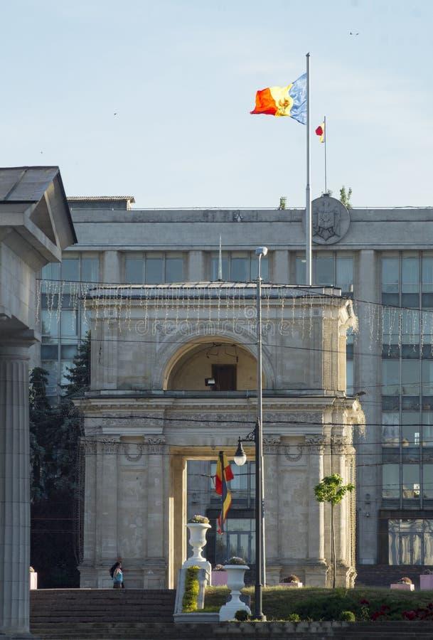 Arc de Moldau chisinau image libre de droits