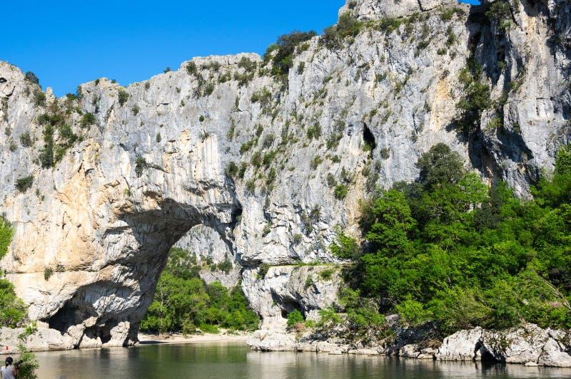 """Arc de Pont le d """"en France image libre de droits"""