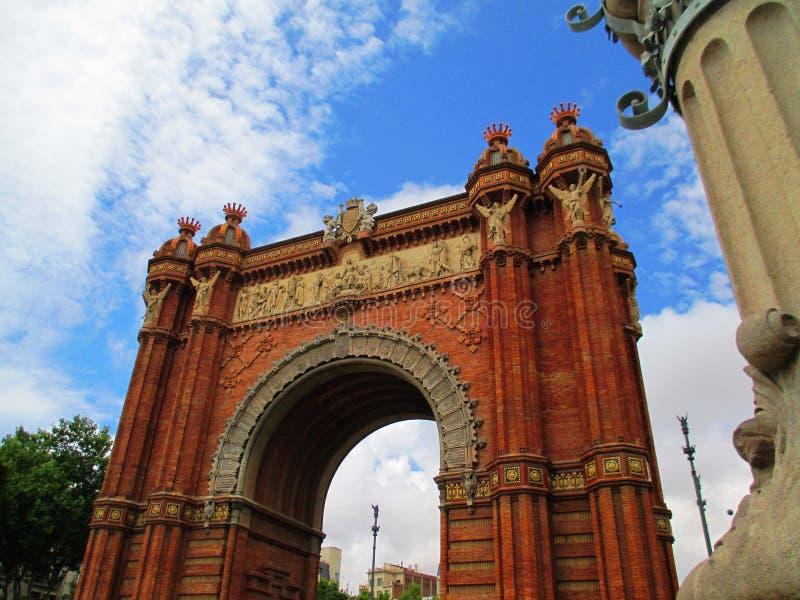 Arc de Triomf photo libre de droits