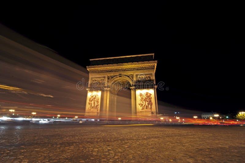 Arc De Triompe, Paris Royalty Free Stock Images