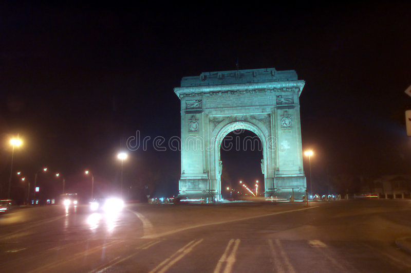 Download Arc  de Triomphe stock image. Image of triumphal, view, outdoor - 15