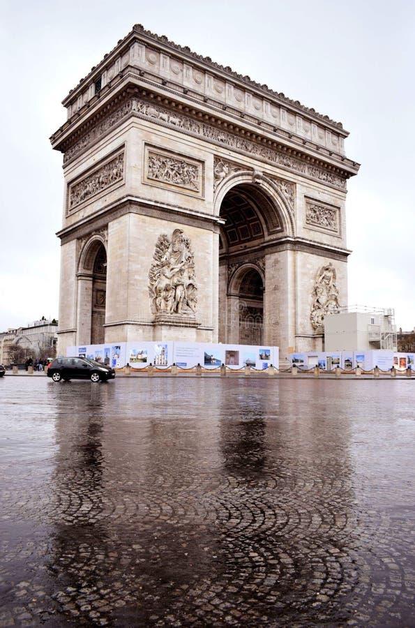 Arc de Triomphe lizenzfreies stockfoto
