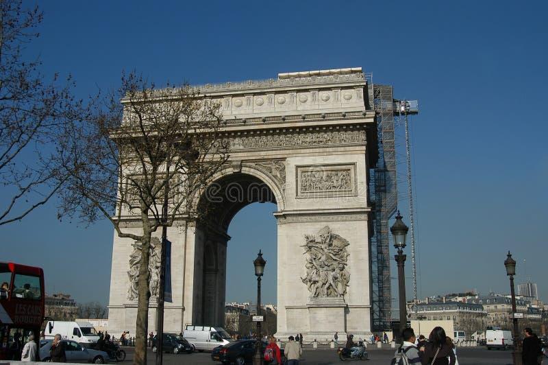 Arc de triomphe photographie stock