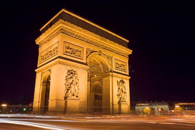 Arc DE Triomphe royalty-vrije stock afbeelding