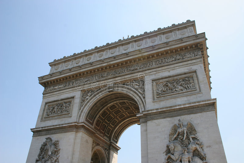 Arc de Triomphe photo libre de droits