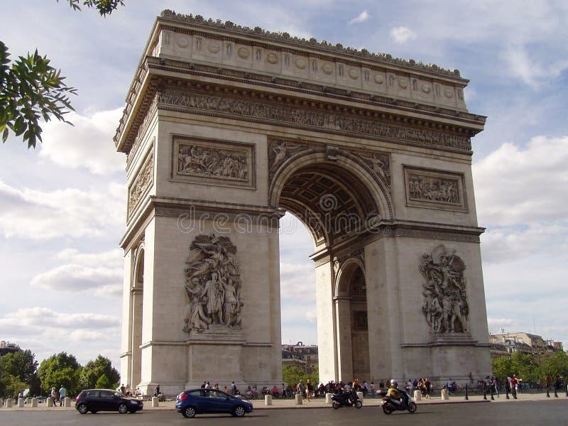Arc de Triomphe stockbilder