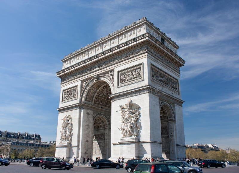 Arc de Triomphe foto de stock