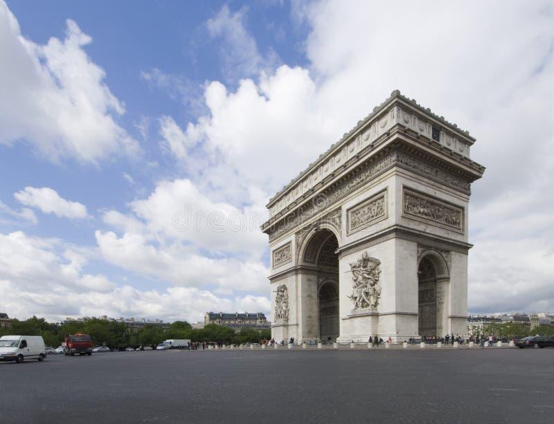 Arc de Triomphe royalty free stock photos