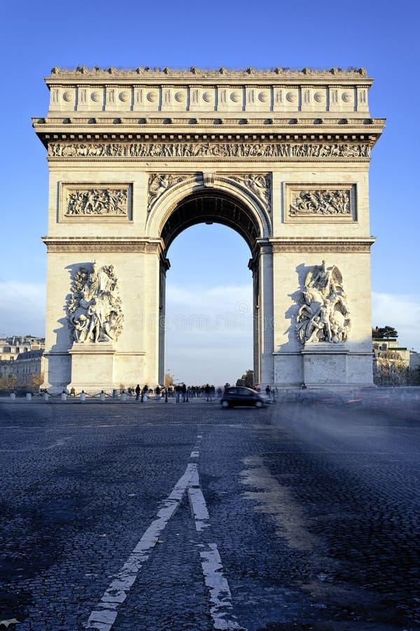 Download Arc de Triomphe imagem de stock. Imagem de arte, historic - 26509223