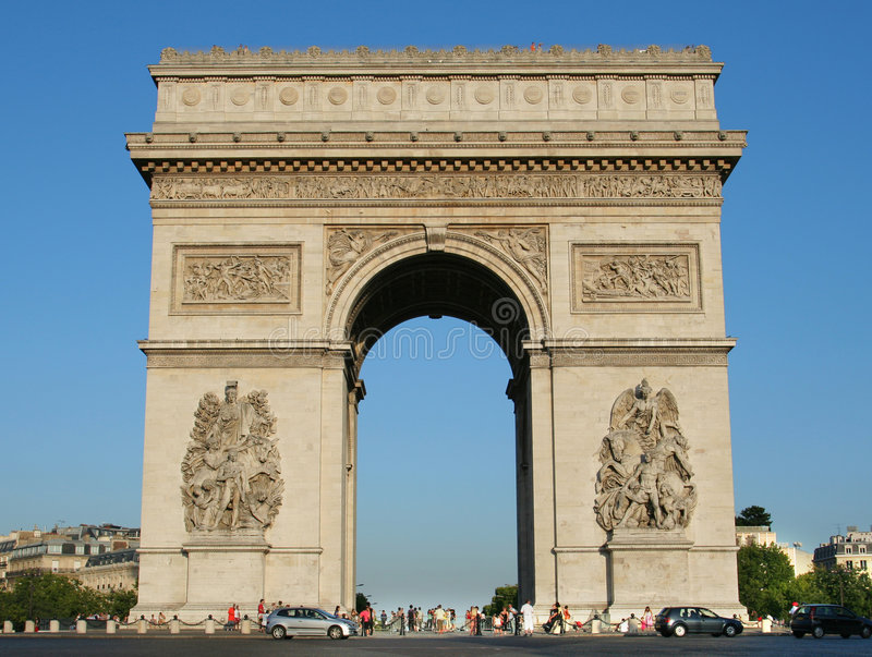 Download Arc De Triomphe Royalty Free Stock Photos - Image: 2935618