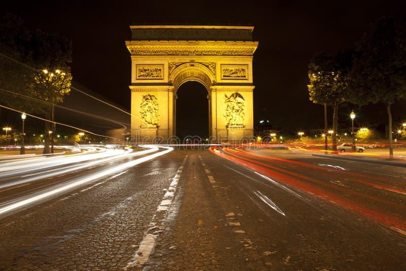Arc DE Triomphe royalty-vrije stock afbeeldingen