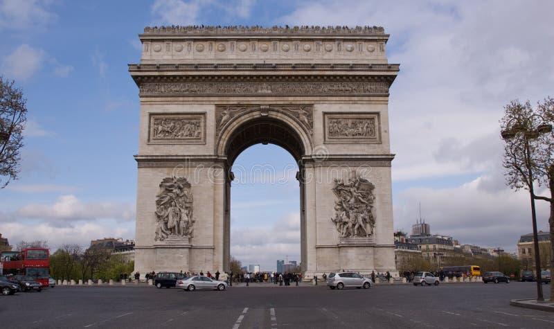 Arc de Triomphe lizenzfreie stockfotos