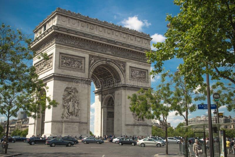 Arc de Triomphe foto de stock royalty free