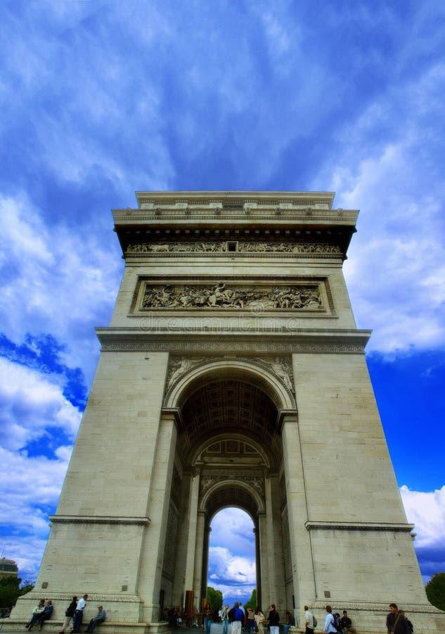 Arc DE Triomphe stock afbeeldingen