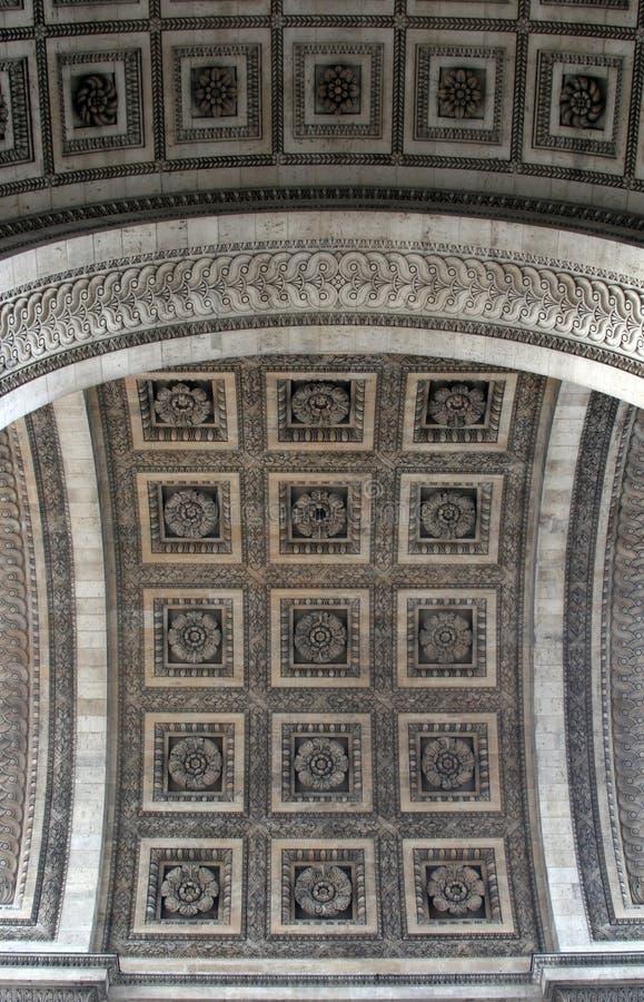 Arc De Triomphe Royaltyfria Bilder