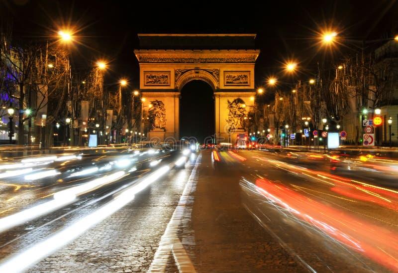 Arc de Triomphe royaltyfri bild