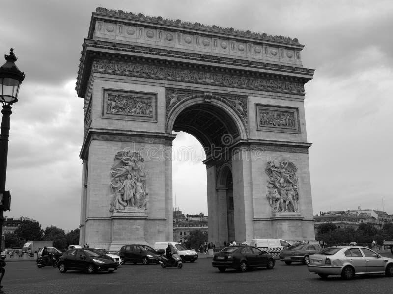 Arc de Triomphe στοκ φωτογραφία με δικαίωμα ελεύθερης χρήσης